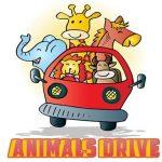 Animals Drive Jigsaw