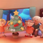 Christmas Clay Doll Slide