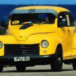 Cuban Taxi Vehicles