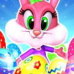 Flying Easter Bunny 1