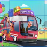 Kids and Vehicles Jigsaw