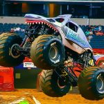 Monster Truck Racing Puzzle