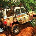 Off road Jeep vehicle 3d