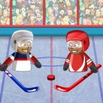 Puppet Hockey Battle