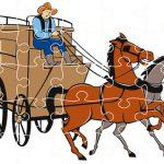 Wagons Jigsaw